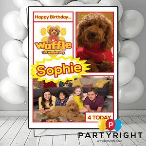 Personalised-Waffle-Wonder-Dog-Birthday-Any-Greetings-Card-Any-Name-Any-Age