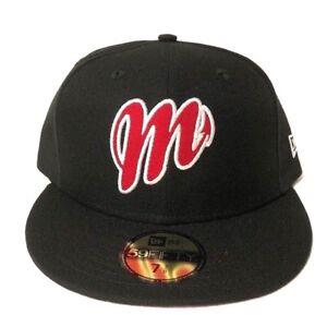 New Era Diablos Rojos del México 59Fifty Fitted Hat Black Red Mens ... 7652a1b9c2a2