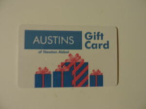 RARE-AUSTINS-OF-NEWTON-ABBOT-UK-GIFT-CARD-NO-VALUE-COLLECTORS-ITEM