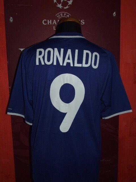 RONALDO BRAZIL 2000 AWAY MAGLIA SHIRT CALCIO FOOTBALL MAILLOT JERSEY CAMISETA