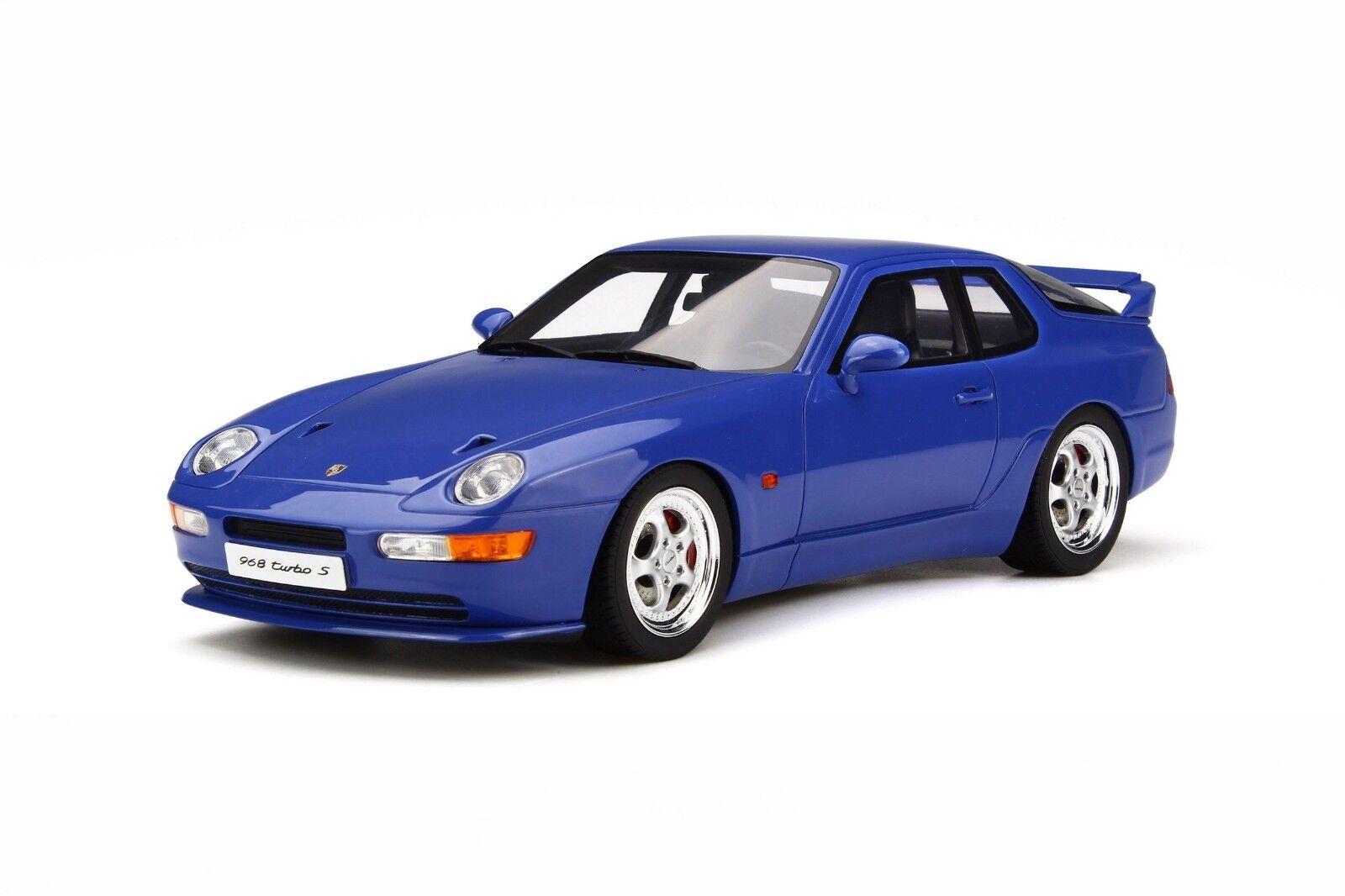 GT Spirit Porsche 968 Turbo S 1 18 bleu
