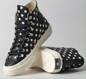 7c4269d4df06 CONVERSE WOMEN   MEN CHUCK TAYLOR ALL STAR 70 Hi TOP BLACK LEATHER W ...
