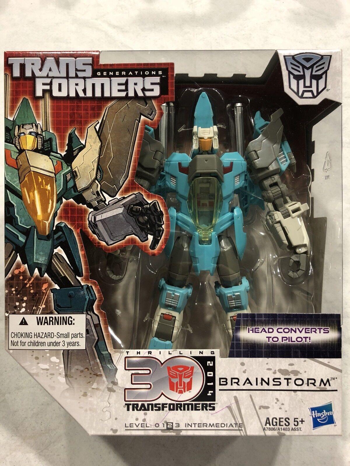 Hasbro Transformers G1  Generations Voyager Brainstorm 30th Anniversary MISB  beaucoup de surprises
