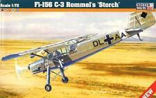 FIESELER Fi 156 C3 ROMMEL'S STORCH (LUFTWAFFE & POLISH AF MKGS) 1/72 MASTERCRAFT