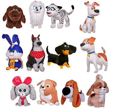 """NEW OFFICIAL 12/"""" SECRET LIFE OF PETS 2 PLUSH SOFT TOYS MAX GIDGET DAISY ROOSTER"""