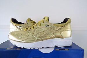 3e847b57e5c0 ASICS Gel Lyte V  Champagne Pack  Gold HL501-9494 limited sz 6 mens ...