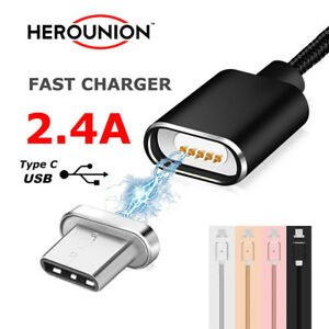 2-4A-Magnetic-Type-C-USB-Data-Charging-Cable-Magnet-Adapter-For-Samsung-S8-Plus