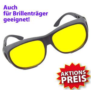 Nachtfahrbrille-Autofahrerbrille-Nachtsichtbrille-Kontrastbrille-Night-Vision