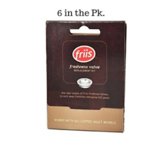 Friis Valve Replacement Kit Contains 6 Valves  For Friis Coffee Vault SEE VIDEO