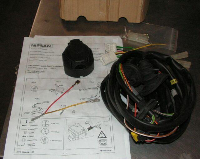Nissan Primera P12 7 Pin Towbar Wiring Part Number Ke505