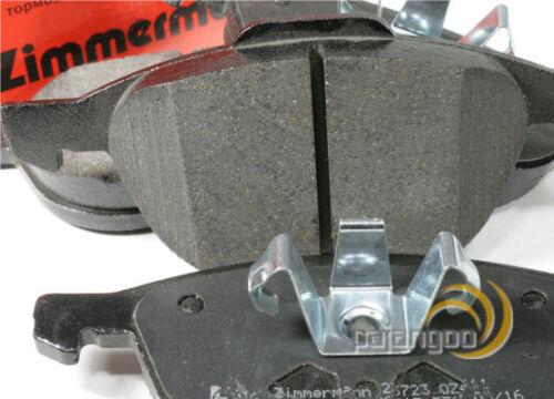 Zimmermann Bremsbeläge Bremsklötze für vorne Vorderachse Volvo C30