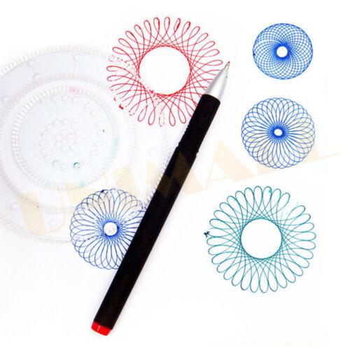 Original Spirograph Design Set Kids Creative Drawing Activity For Young Aspiring