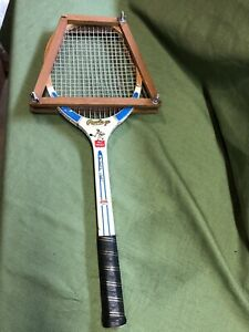 Details About Vintage Rawlings Miss America Wooden Tennis Racket With Frame