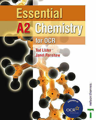 Renshaw, Janet,Lister, Ted, Essential A2 Chemistry for OCR Student Book (Essenti