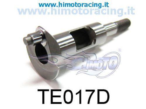 TE017D ALBERO MOTORE PER MOTORE A SCOPPIO SH .21CXP CRANKSHAFT HIMOTO
