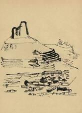 HEIMAT DES KONFUZIUS   Gustav SEITZ - Druckgraphik CHINA um 1950