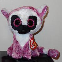 Ty Beanie Boos Leeann The 6 Lemur Stuffed Plush Toy (brand New) 2017 Design