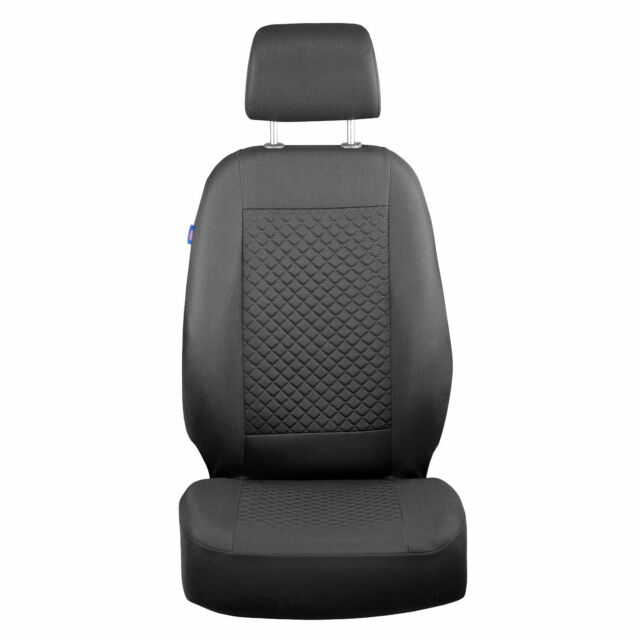 Intensive Black Seat Covers for Peugeot Boxer Car Seat Cover Set 1+2