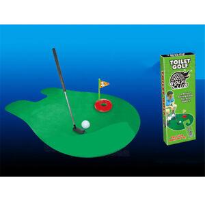 Image Is Loading 1 Set Bathroom Funny Golf Toilet Time Mini