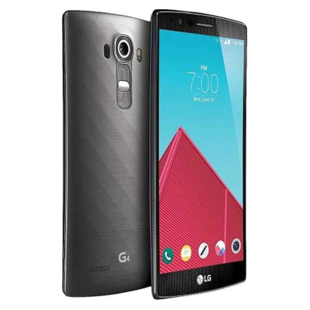 LG G4 - 32GB - Metallic Gray (Sprint) Smartphone Very Good Condition
