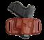 TAGUA-BLACK-or-BROWN-LEATHER-OWB-QUICK-DRAW-BELT-SLIDE-HOLSTER-CHOOSE-GUN-MODEL