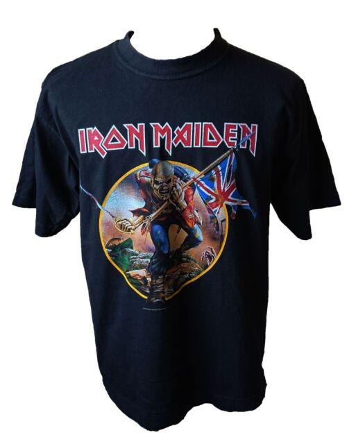 Iron Maiden Somewhere Back In Time World Tour 2008 T-Shirt Large. Eddie. NWOBHM