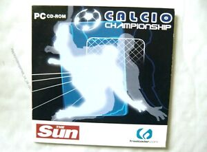56168 - Calcio Championship - PC (2004) Windows XP