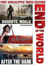 End of the World: Goodbye World/Bloodrayne/After the Dark (DVD, 2015)very good