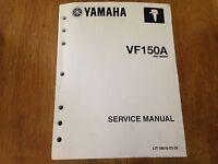 Yamaha Outboard Motor Service Manual Vf150a