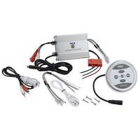 Pyle Plmrmbt5s Marine Bluetooth 600 Watt 2 Channel Waterproof Boat Amplifier on sale