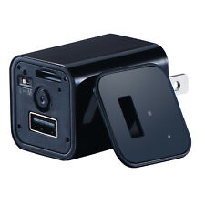 1080P Mini AC adapter EU/US/plug Wall Charger Hidden Spy Motion Detection camera