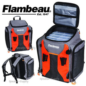Image Is Loading Flambeau Ritual Backpack R50bp Soft Fishing Containers Large