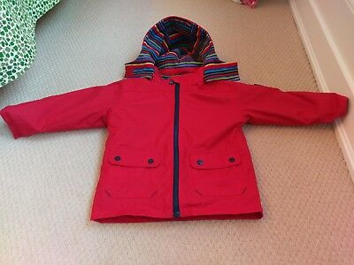ad61bad86 Jojo Maman Bebe 4-in-1 Waterproof Polarfleece Jacket age 2-3
