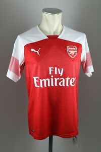 Arsenal-London-Trikot-2018-2019-Gr-M-L-XL-XXL-3XL-Puma-Home-Shirt-jersey