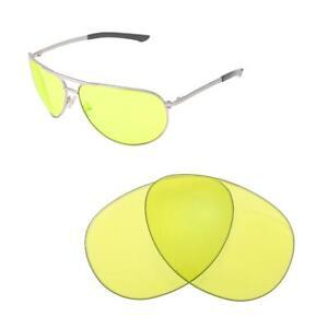 887feb29c4 Smith Serpico Slim Polarized Sunglasses Source · New Walleva Yellow Non  Polarized Replacement Lenses For Smith