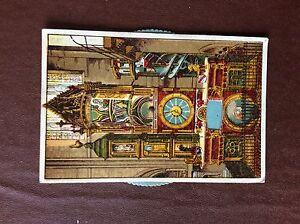 A4e-postcard-unused-vintage-novelty-card-strasbourg-l-039-horloge-astronomique-de-l