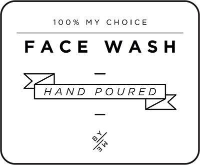 Home & Garden Mini Face Wash Decal White Comfortable Feel