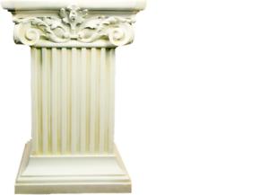 Détails sur Grec Style Antique Colonnes Colonne Kolumne Fleurs Support  Décoration Déco 1063