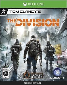 Tom Clancy S The Division Xbox One Game Xbox One New In Stock Ebay