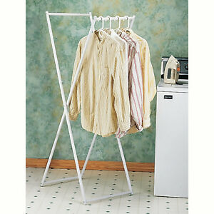 Image Is Loading Home Folding Clothes Rack Wet Dry Laundry Organizer