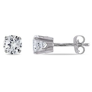 Amour-10k-Gold-Created-White-Sapphire-Solitaire-Stud-Earrings-1-1-5ct-TGW