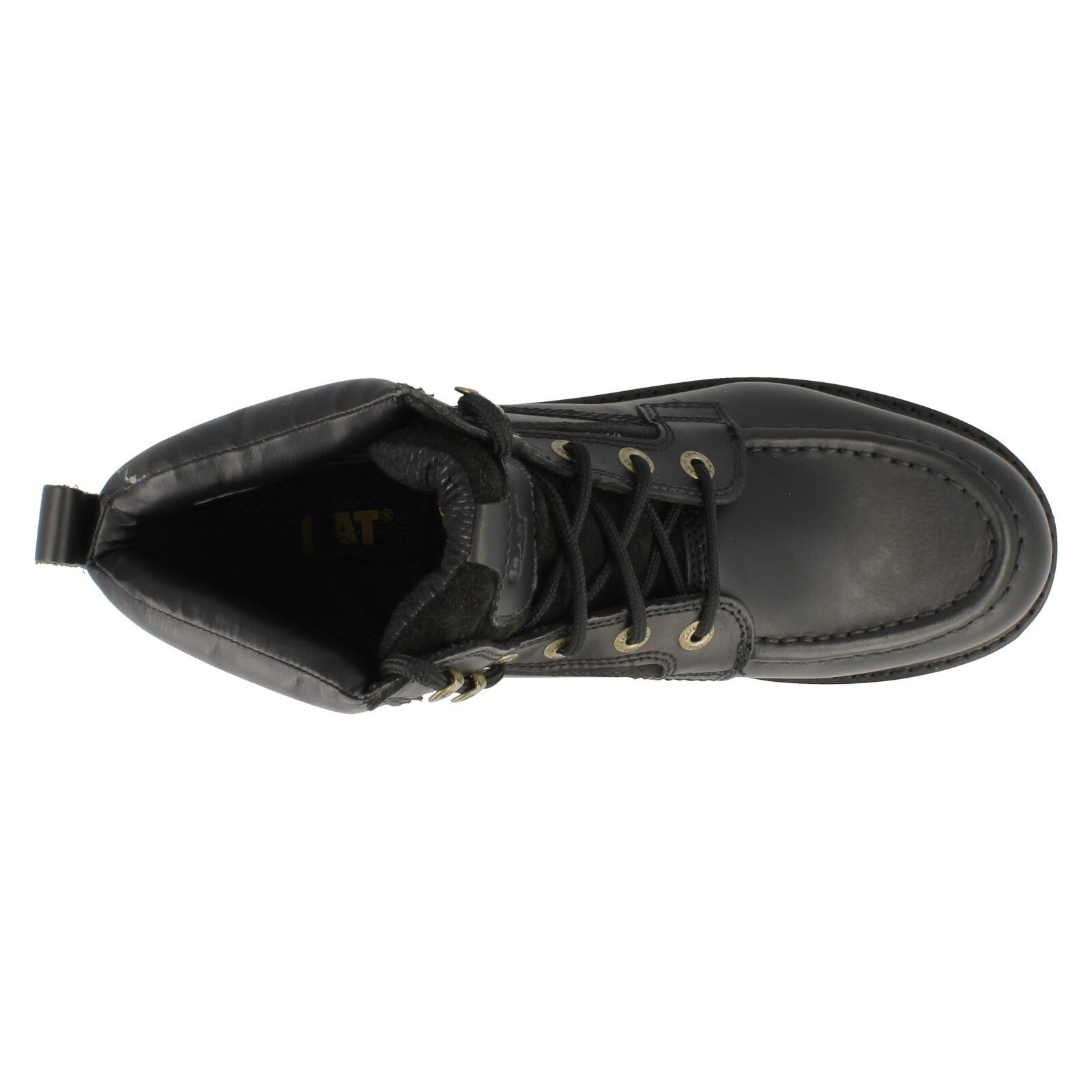 Transposer lacets Caterpillar hommes à lacets Transposer cuir noir marron MARCHE 32511a