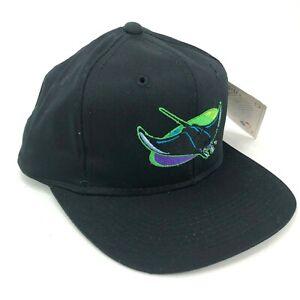 Vintage-Tampa-Bahia-Diablo-Rayos-Outdoor-Cap-Co-Youth-Gorra-Plana-Grande-Logo