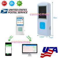 Usa Portable Ecg Ekg Machine With Usb,heart Beat Monitor,bluetooth Home Care