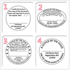 Image Is Loading Personalized Office Rubber Stamp Set Self Ink Law