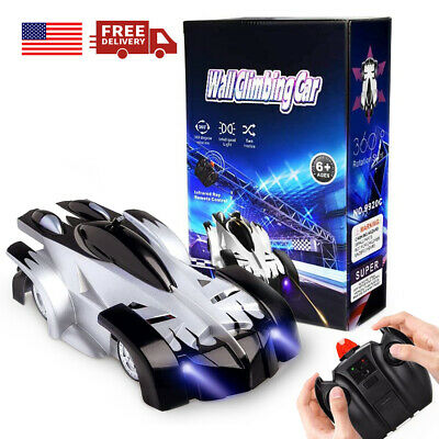 Details about  /Wall Climbing Remote Control Car Stunt RC Racing Kids Toys Christmas Xmas Gift