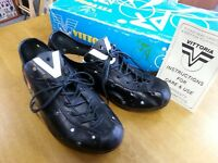 Vintage Vittoria Junior Cycling Shoes Italian