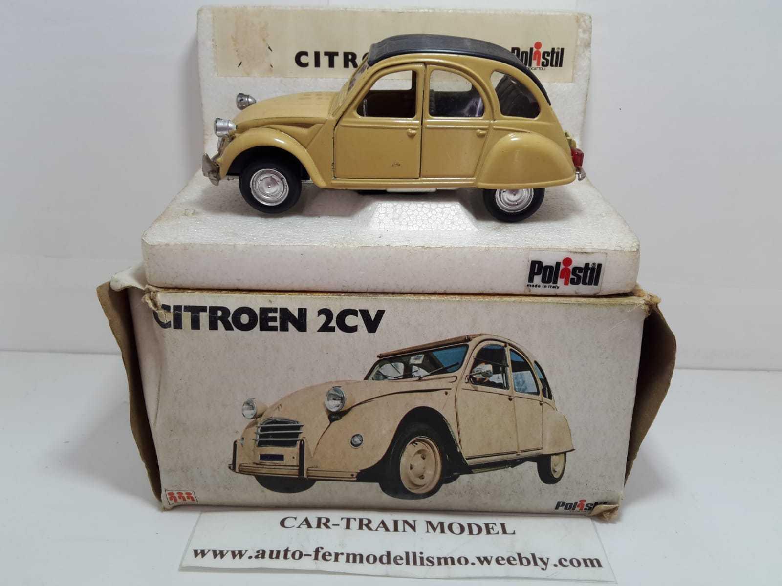Citroen 2CV - Polistil - 1:25 1/25 1-25 RARE