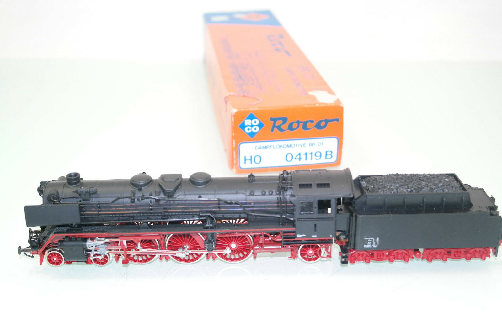Roco h0 4119b Steam-Lok br 01 de la DB (jm607) OVP