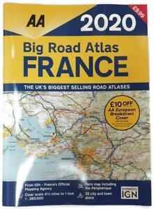 AA-Big-Road-Atlas-France-2020-Road-Map-A3-RRP-9-99